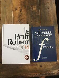 Dictionnaire et grammaire neufs