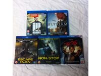 5 blu ray dvd films movies