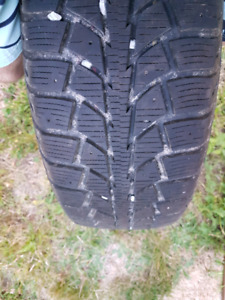 4-1 Year New TigerPaw Winter Tires/Rims
