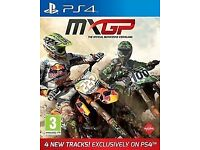 playstation ps4 game MXGP motocross