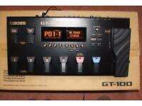 Boss GT100 Guitar Processor.
