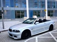 BMW 330ci Msport CONVERTIBLE, Private Plate, Stunning, Fast, Headturner