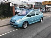 2006/56 Citroen Xsara Picasso 1.6HDi Desire DIESEL 5dr MPV ONLY 60738 Miles