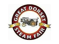 Event Crew required - The Great Dorset Steam Fair