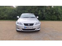 LEXUS IS 220D 6 SPEED MANUAL DIESEL 07 PLATE 2007 ONEOWNER FROM NEW 76295 MILES FULL SERVICE HISTORY
