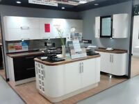Modern Hign Quality Kitchen Units , ex B&Q display that did not fit our space