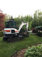 Mini Excavator + Operator For Hire!