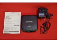 Sony Discman D-131 CD Player £60