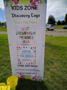 Free Kids Zone with Discovery Toys
