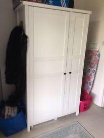 Ikea Hemnes White Wardrobe £100 ONO