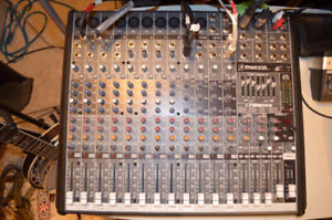 Mackie 16 channel stereo sound system