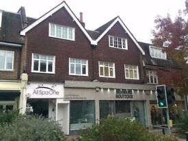 Recently refurbished first floor office space on Esher High Street
