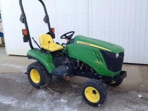 Reduced by $1,500! John Deere 1023E Tractor