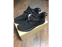 NEW & BOXED – YEEZY SUPLY 350 BOOST PIRATE BLACK MOONROCK TURTLE DOVE TRAINERS – UK 8, 9, 9.5, 10.5