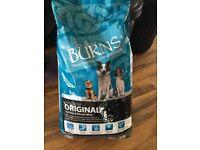 Unopened 15kg Burns Adult Biscuits Original Chicken &a Brown rice