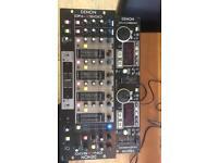 Denon DN-X500 mixer and DN-D4500