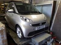 Smart fortwo 1.0 mhd ( 71bhp ) Softouch convertible Passion 2012 62 reg
