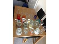 Glassware x30pcs
