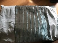 Aqua king size duvet cover set