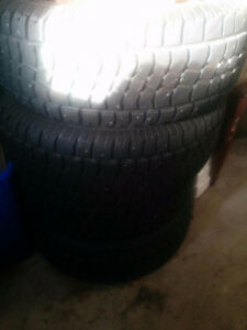 Studded winter tires 18 inch x 4