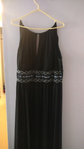 Grecian bridesmaid dress sz 22