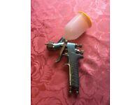 Devilbiss SRI W smart repair spray gun with new pot