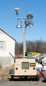 2009 Ingersoll-Rand Portable Light Tower