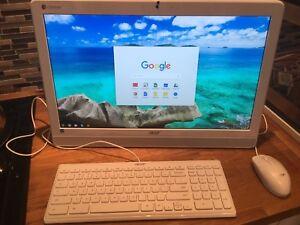 Acer Chromebase White DC221HQ Desktop PC