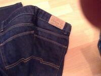 Levi Strauss blue jeans 29/32