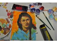 Art of colour - painting class