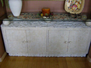 REAL FOSSIL STONE BUFFET