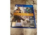 ps4 game- destiny the collection