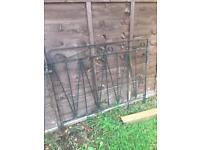Wrought Iron Gates pair of