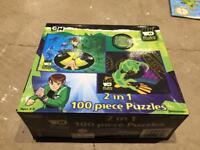 Jigsaw Puzzles - Ben 10 Alien Force / Transformer