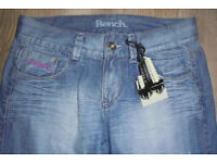 """Mens Bench, distressed look jeans - sz 28"""" W ** NEW with tags *"""
