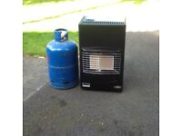 Portable calor gas heater