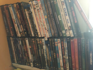 163 DVD lot, 31 tv seasons --- $450 for the entire lot!