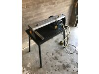 600w Sliding Wet Tile Saw
