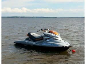 2008 Sea Doo RXP-X 255 with trailer