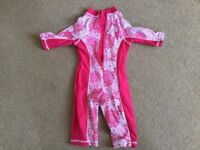 All in One Swimsuit 1 to 1.5yrs - £5