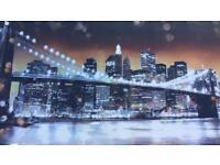 Paintings of New York skyline