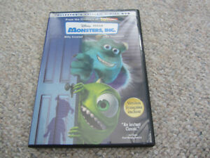 Disney/Pixar's Monsters Inc on DVD - 2-Disc Collector's Edition