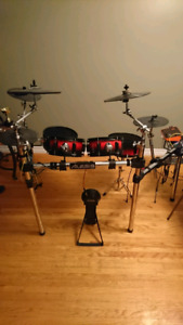 Custom Electronic Drum Set with 2box Module