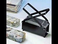 Paper Brick Maker - great free heat source for wood burners or fire pits etc