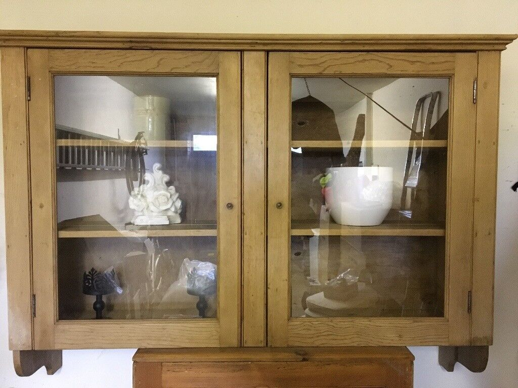 Antique Pine Display Cabinet - Antique Pine Display Cabinet In Stirling Gumtree