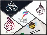 i will design your logo in Arabic and English for 35£