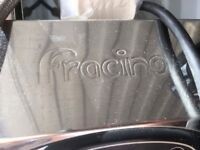 Fracino double head coffee machine with grinder