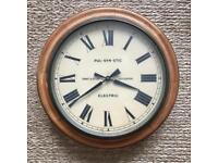 Antique Gent & Co wall clock