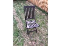 2 x Garden chairs - £10 each