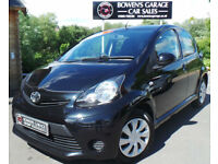 2012 (62) TOYOTA AYGO 1.0 ICE 5DR - 2 OWNERS - FREE ROAD TAX - 5 SERVICE STAMPS
